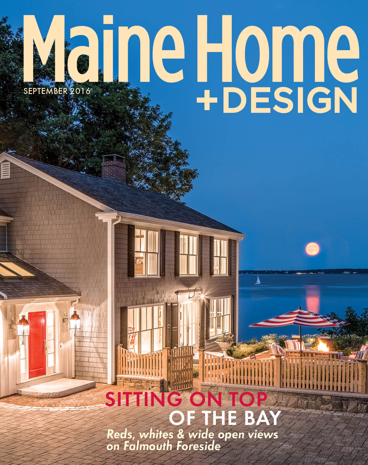 Maine Home + Design September Issue Features Russ Doucette Homes