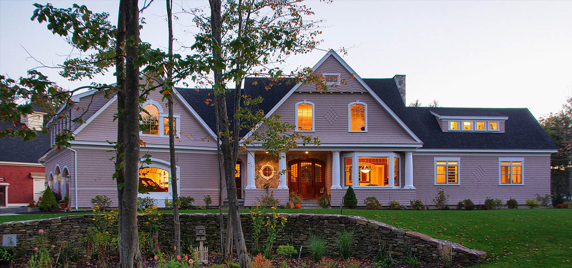 Custom Built Home by Russ Doucette in Southern Maine