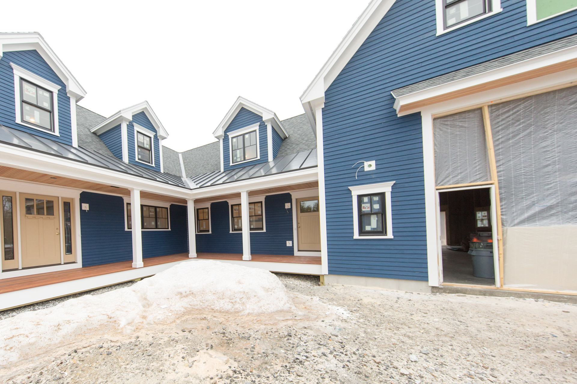 Cape Elizabeth New Construction Russ Doucette Custom Home Builder