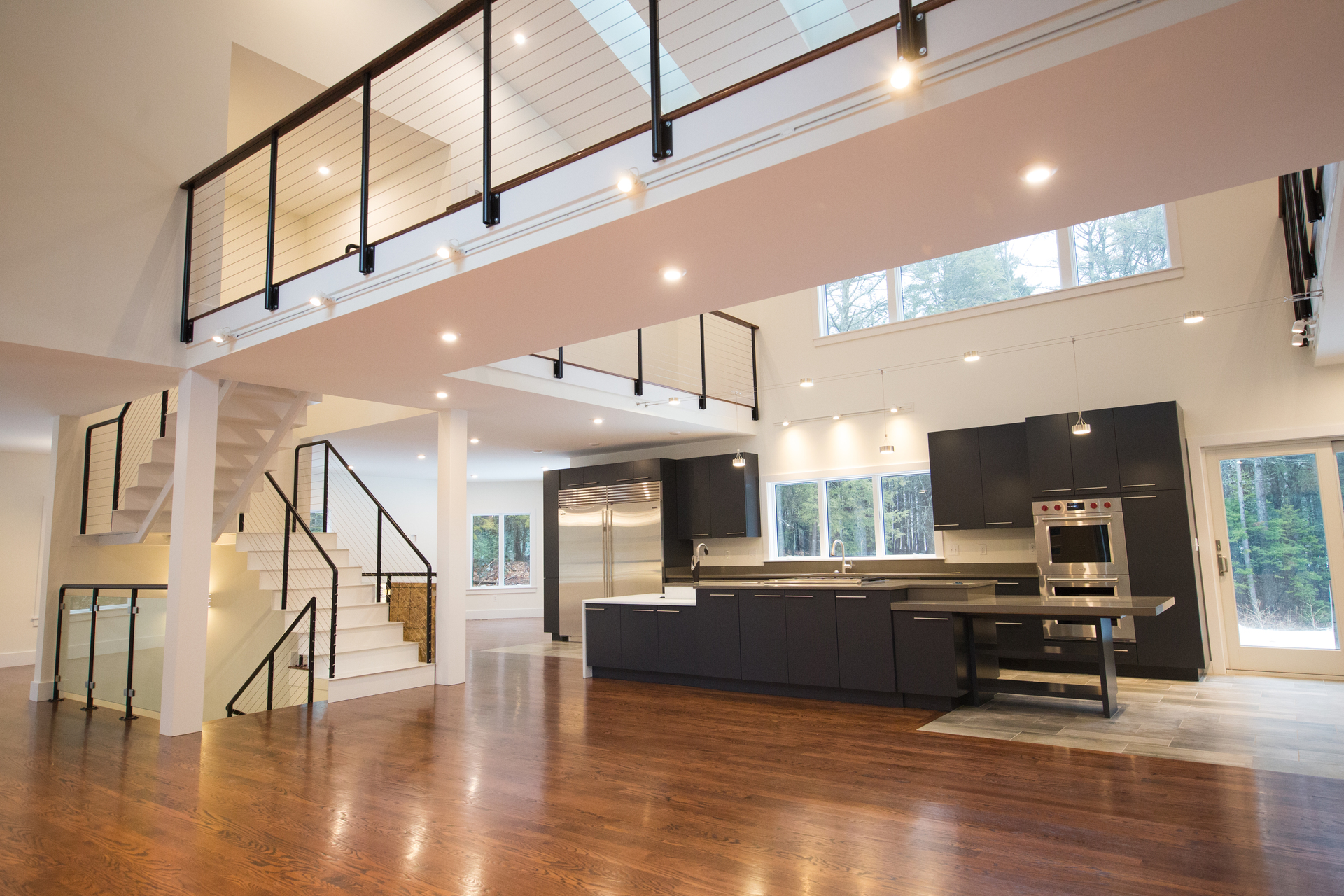 Modern Open Concept Home Built in Maine